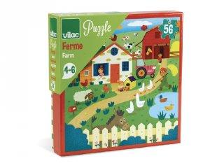 Farmos kirakó, 56 db-os puzzle (VL, 4-6 év)