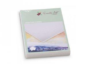 Fehér kartonpapír vastag, A5 250 gr-os, 100 db-os kreatív művészi készlet (15547, 10-99 év)