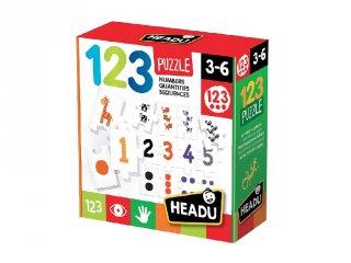 Fejlesztő puzzle, számok és mennyiségek (HED, 3-6 év)