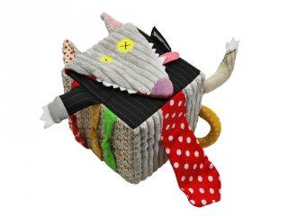 Felfedező játszókocka, Bigbos, a farkas (Deg, 36800, plüss bébijáték, 0-2 év)