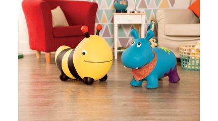 Felfújható ugráló méhecske, B.Toys mozgásfejlesztő játék (2-5 év)