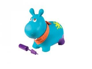 Felfújható ugráló víziló, B.Toys mozgásfejlesztő játék (2-5 év)