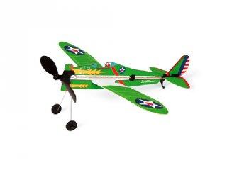 Felhúzhatós katonai sikló repülőgép modell (Scratch, 5-12 év)