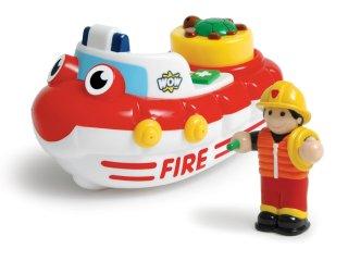 Félix, a tűzoltóhajó, spriccelős (Wow Toys, fürdő-, és strandjáték, 1-5 év)
