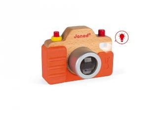 Fényképezőgép hanggal és fénnyel, Janod fa szerepjáték (1-4 év)