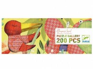 Festmény puzzle, Állati zenekar (Djeco, 7605, 200 db-os kirakó, 6-14 év)