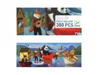 Festmény Puzzle Nyári tó, Djeco 350 db-os kirakó - 7617 (7-99 év)