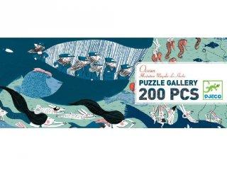 Festmény puzzle, Óceán (Djeco, 7603, 200 db-os kirakó, 6-14 év)