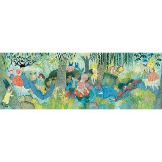 Festmény Puzzle River Party, Djeco 350 db-os kirakó - 7618 (7-99 év)