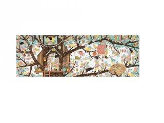 Festmény puzzle, Tree house, Djeco 200 db-os kirakó - 7641 (6-14 év)