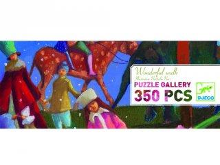 Festmény Puzzle, Varázslatos séta (Djeco, 7612, 350 db-os kirakó, 7-99 év)