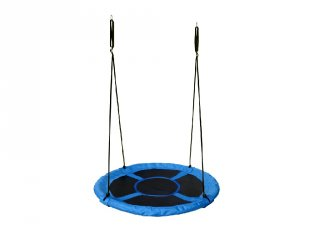 Fészekhinta 110 cm kék, mozgásfejlesztő játék
