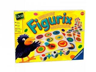 Figurix (forma-, szín-, és háttérkereső logikai társasjáték, 5-8 év)