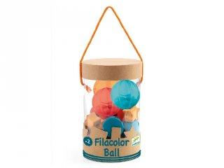 Filacolor Ball, Djeco kreatív fűzős fajáték - 6161 (27 db-os, 2-5 év)