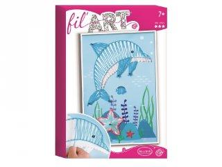 Fil'art varró szett, Delfin (Al, kreatív játék, 7-12 év)