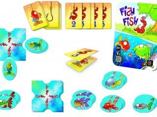 Fish Fish, Halacskák (horgászos taktikai kártyajáték, 8-99 év)