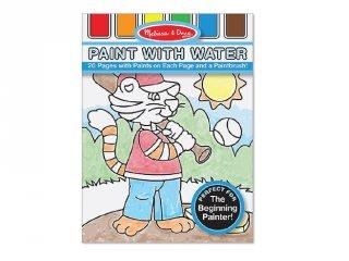 Fiúknak, vízzel festős kreatív készlet (MD, 3763)