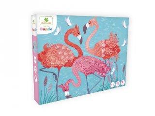 Flamingók, 100 db-os puzzle (Sycomore, 5-10 év)