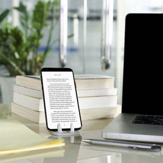 Flexistand hajlítható mobiltartó, Blue words