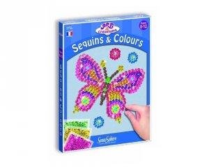 Flitterek és színek (SentoSphére, kreatív, képalkotó játék, 8-12 év)