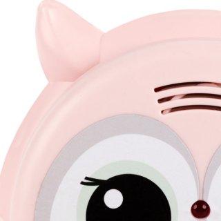 Flow Amsterdam Füstérzékelő Rosie rózsaszín bagoly, gyerekszoba kiegészítő (ZA)