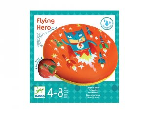 Flying Hero, Djeco rugalmas frizbi, mozgásfejlesztő játék - 2034
