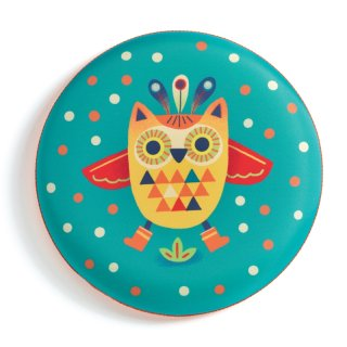 Flying Owl, Djeco rugalmas frizbi, mozgásfejlesztő játék - 2036