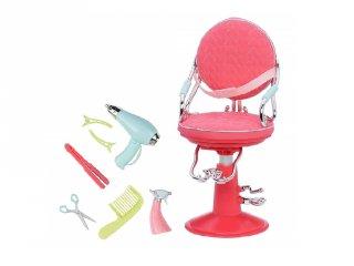 Fodrász szalon szék 46 cm-es babáknak (OR)