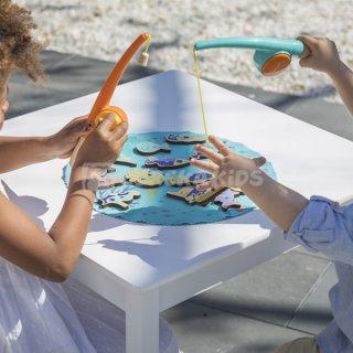 Fogd ki a halacskákat, mágneses horgászjáték (3-6 év)