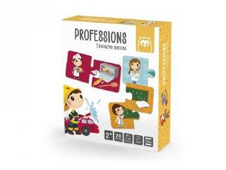 Foglalkozások, Montessori párosító puzzle (2-4 év)