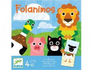 Folanimos (Djeco, 8465, gyorsasági, megfigyelős társasjáték, 4-10 év)