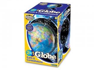 Földgömb, 2 in 1, Esti csillagképes (B., különleges tudományos játék, 6-99 év)