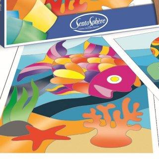 Fóliás képkészítő, Óceán (Sentosphere, kreatív készlet, 4-10 év)