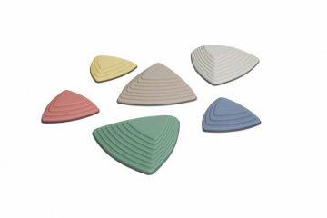 Folyami kövek - Pasztell színben, mozgásfejlesztő játék (Gonge 2820, 3-99 év)