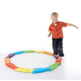 Folyó egyensúlyozó készlet, mozgásfejlesztő játék (Gonge 2123, 3-99 év)