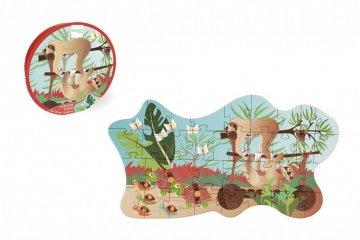 Formadobozos puzzle Lajhár, 35 db-os kirakó (Scratch, 3-5 év)