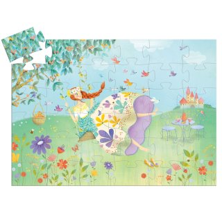 Formadobozos puzzle Tavaszhercegnő, Djeco 36 db-os kirakó - 7238 (4-8 év)