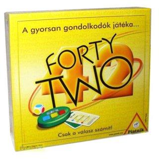 Forty two (Piatnik, gyorsasági kitalálós parti kártyajáték, 14-99 év)