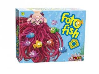 Foto Fish, gyors megfigyelős társasjáték (Logis, 4-10 év)