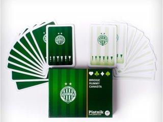 Fradi römi kártya (Piatnik, 2 x 55 lapos, francia, parti kártyajáték, 8-99 év)