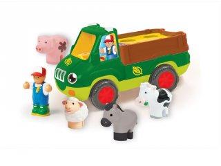 Freddie, az állatszállító, Wow Toys autós szerepjáték (1,5-5 év)