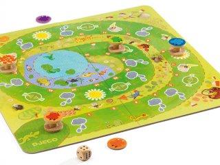 Froggy, Békák az esőben (Djeco, békás memóriafejlesztő társasjáték, 4-8 év)