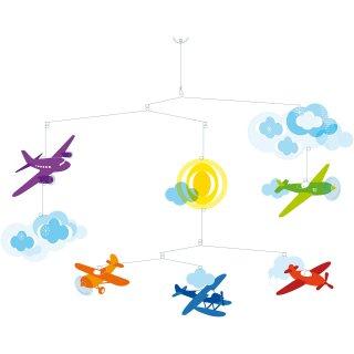 Függődísz, Repülők (Djeco, 4332, szobadkoráció)