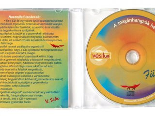 Fülelő audio CD (Vésike, 65 feladványos logopédiai játék, 5-10 év)