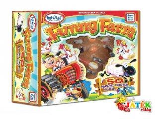 Funny farm (egyszemélyes, puzzle-szerű logikai játék, 8-99 év)