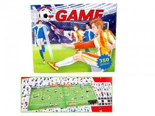Futball tervező (TM, focis matrica füzet fiúknak, 5-12 év)