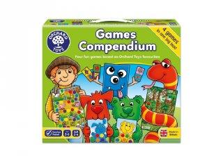 Games Compendium, Orchard Toys 4 db-os játékgyűjtemény (3-6 év)