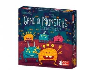 Gang of Monsters Szörnyek Bandája, partijáték (Keller & Mayer, 6-12 év)