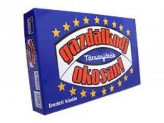 Gazdálkodj okosan, eurós változat (klasszikus, családi, szórakoztató társasjáték, 8-99 év)