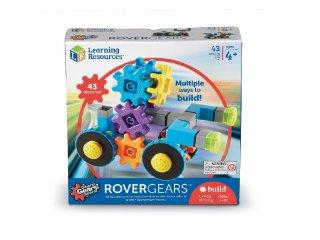 Gears! Gears! Gears! Fogaskerekes járművek, 43 db-os építőjáték (9232, Learning Resources, 4-8 év)